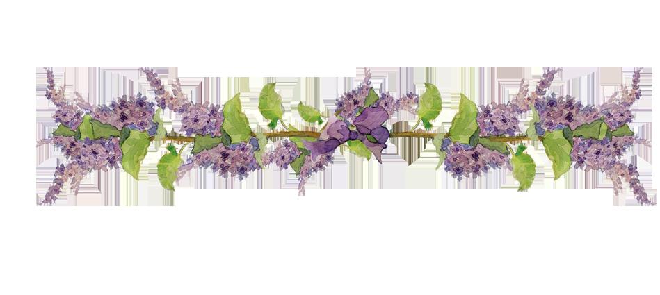 Elements de scrap page 10 - Dessin de lilas ...